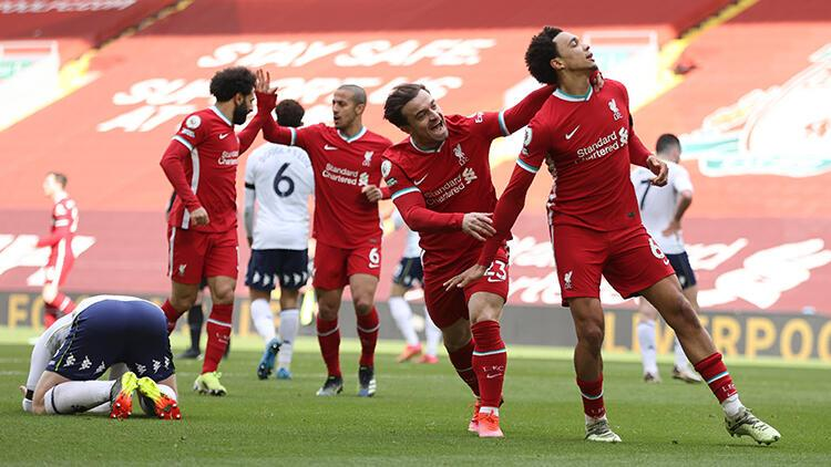 Liverpool 2 - 1 Aston Villa (Maç özeti)