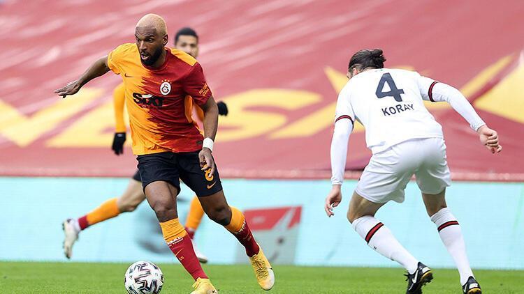 Galatasaray 1-1 Fatih Karagümrük (Maçın özeti ve golleri)