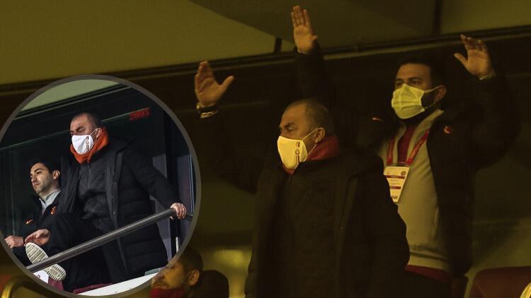 Galatasaray'da Fatih Terim çılgına döndü! İptal kararı sonrası hakeme tribünden tepki gösterdi