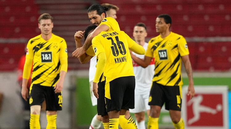 Bundesliga'da Borussia Dortmund 3 puanı 3 golle aldı