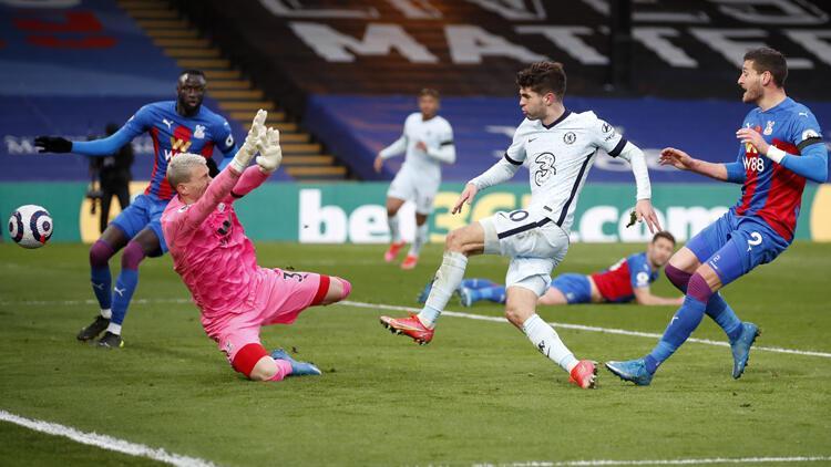 Premier Lig'de Chelsea, Crystal Palace'ı farklı yendi