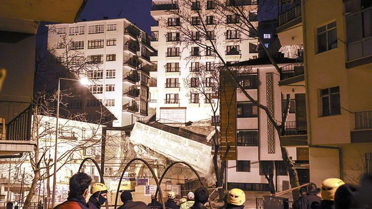 21 bina boşaltıldı
