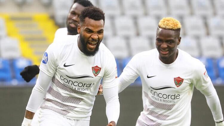 Hatayspor'da Boupendza sustu, Diouf golleri atmaya başladı!
