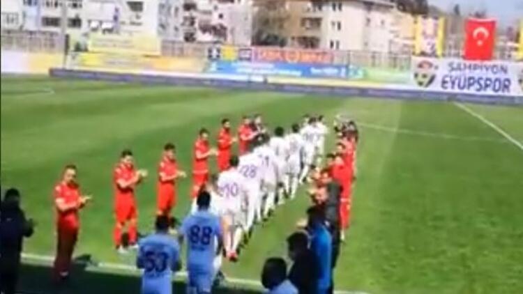 Eyüpspor, Şampiyonlar Ligi müziği ile şampiyonluk için sahada!