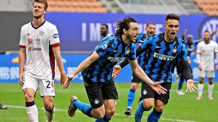 Inter 1 - 0 Cagliari (Maç özeti)