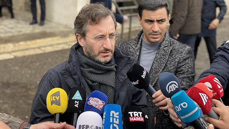 İletişim Başkanı Altun'dan Karabağ'daki yıkımı görmezden gelen uluslararası topluma tepki