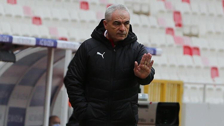 Sivasspor Teknik Direktörü Rıza Çalımbay: 'Bizim için kırılma noktasıydı'