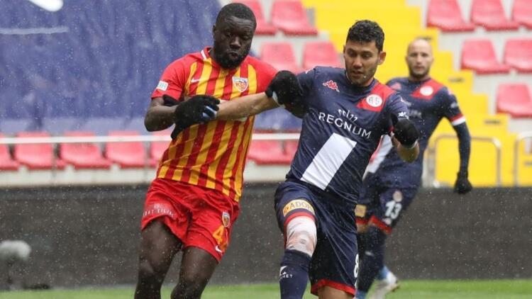 Kayserispor 0-1 Antalyaspor (Maçın özeti ve golü)