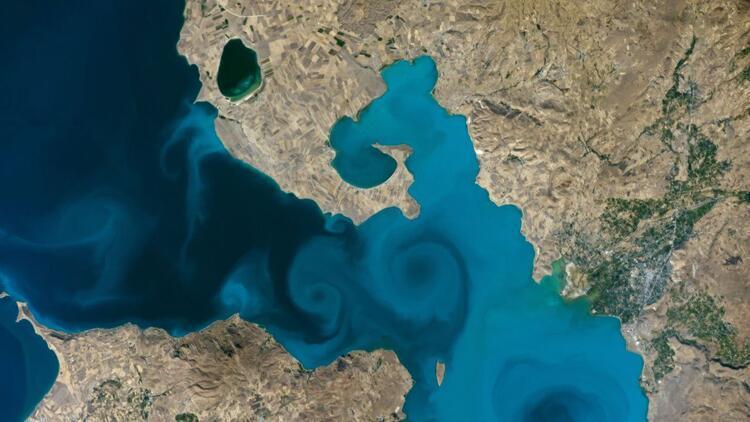 Son dakika haberi: Van Gölü fotoğrafı, NASA'nın yarışmasında finale kaldı