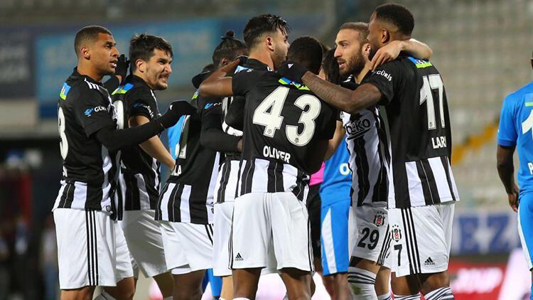 Erzurumspor 2-4 Beşiktaş (Maçın özeti ve golleri)