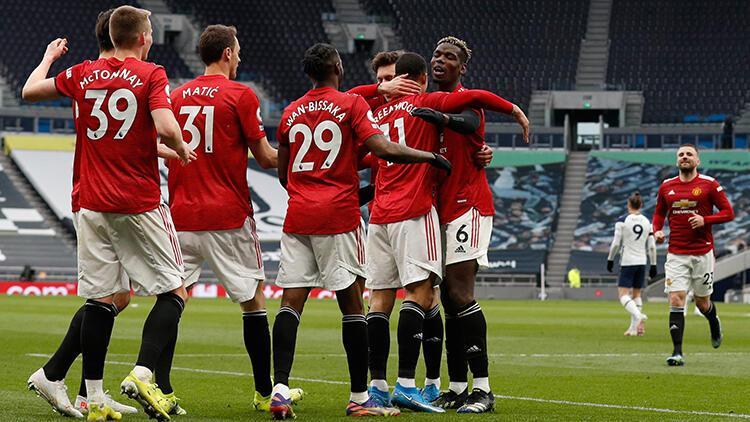 Tottenham 1 - 3 Manchester United (Maç özeti)