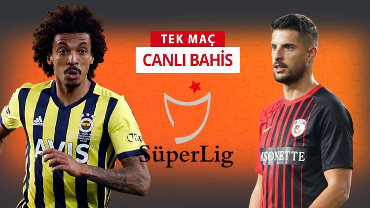 Fenerbahçe'nin Kadıköy'de konuğu Gaziantep FK! Bu maça iddaa oynayanların %47'si...