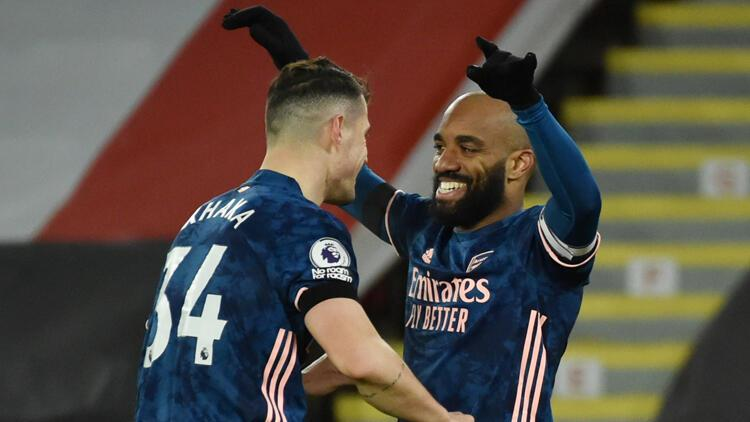 Arsenal, Sheffield United'ı 3 golle mağlup etti