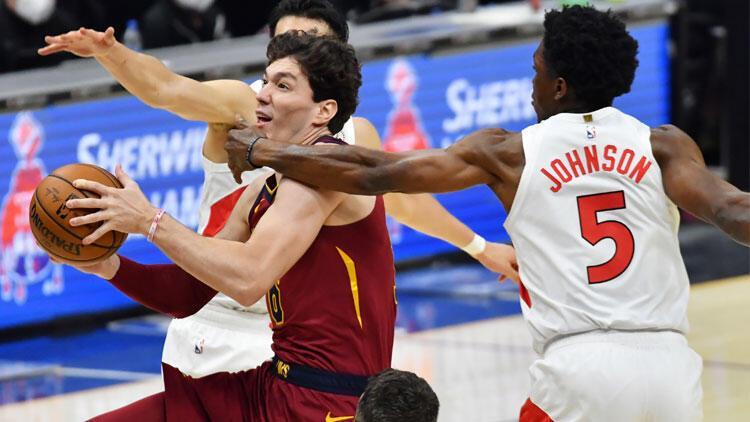 NBA'de gecenin sonuçları: Cedi Osman'ın 15 sayısı Cleveland'a yetmedi