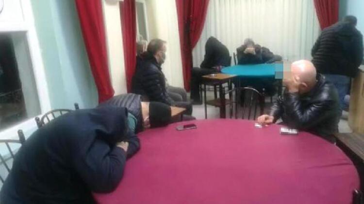 Kırıkkale'de dernekte okey oynayan 20 kişiye 125 bin TL ceza