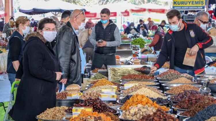 Ramazan öncesi pazarlarda hareketlilik