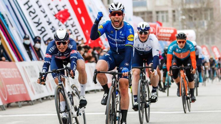 56. Cumhurbaşkanlığı Türkiye Bisiklet Turu'nun 2. etabını Mark Cavendish kazandı