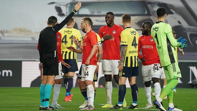 Gaziantep'ten Fenerbahçe maçı sonrası isyan! 'Hakem art niyetliydi'