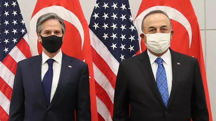 Son dakika haberi: Türkiye ile ABD arasında kritik temas! Bakan Çavuşoğlu, ABD'li mevkidaşı Blinken ile görüştü