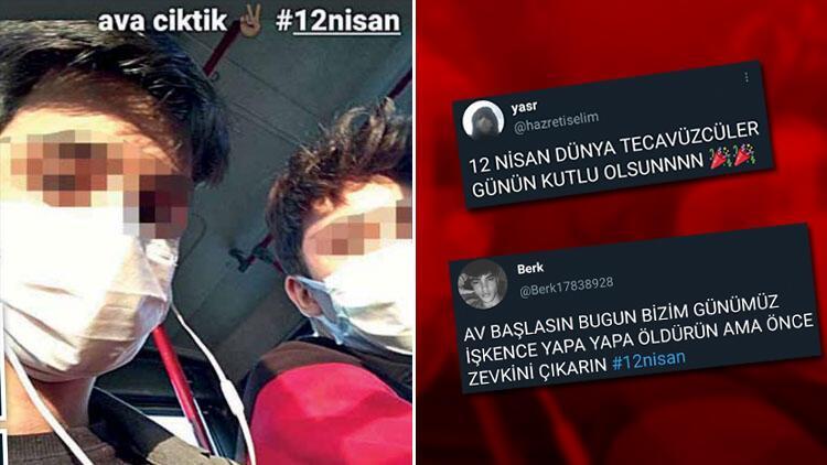 #12Nisan rezaleti... Kan donduran tweet'ler... Böyle bir alçaklık nasıl yapılır!