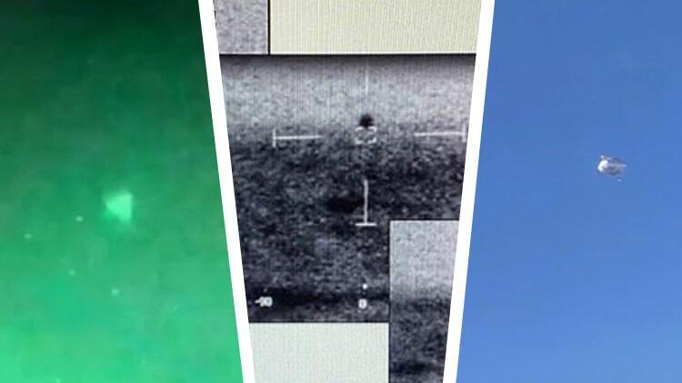 Pentagon'dan UFO itirafı: O görüntüleri doğruladı