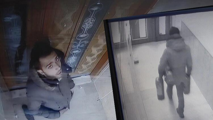 Esenyurt'ta hırsızlık anı kameraya yansıdı