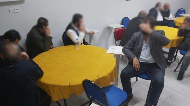 Edremit'te kumar baskınında 50 bin 992 lira ceza