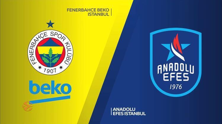 Euroleague'de Anadolu Efes ile Fenerbahçe Beko'nun play-off programı belli oldu