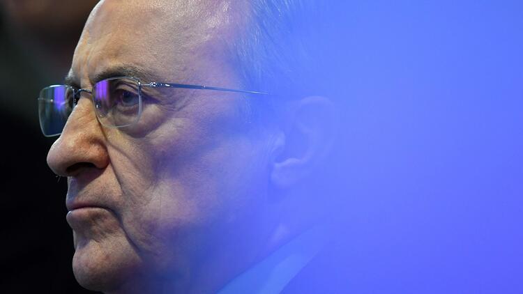 Real Madrid'de Florentino Perez 6. kez başkan