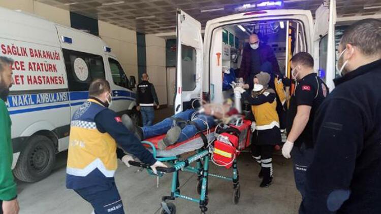 Elektrikçi, kalp masajıyla hayata döndürüldü