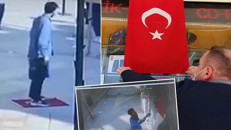 Türk Bayrağı'nı yere serip üzerine basmıştı! Tepki çeken olayda yeni detaylar