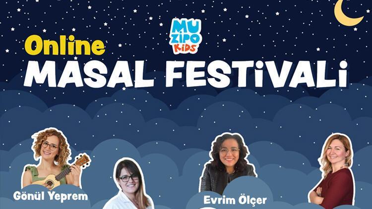 Muzipo Kids'ten çocuklar için online masal festivali