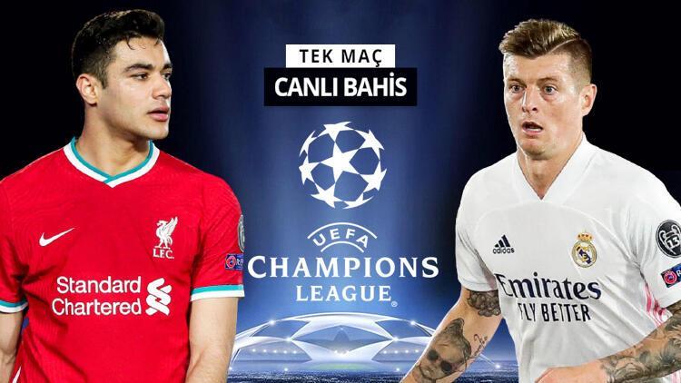 Liverpool'da Ozan Kabak ilk 11'de olacak mı? 3-1'in rövanşında Real Madrid'in iddaa oranı...