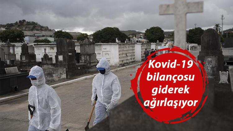 Son dakika haberler... Koronavirüste korkunç bilanço: Brezilya'da ölüm sayısı doğum sayısını geçti!