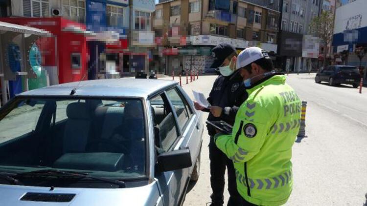 Keşan'da, 75 kişiye 189 bin lira 'koronavirüs' cezası