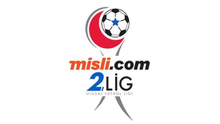 Misli.com 2. Lig'de 34. hafta maçları yarın oynanacak