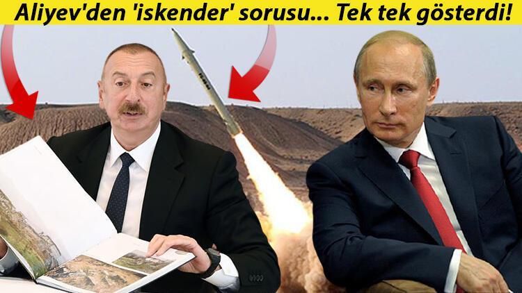 Azerbaycan Cumhurbaşkanı Aliyev'den İskender- M füzesi açıklaması: Rusya'dan yanıt bekliyoruz