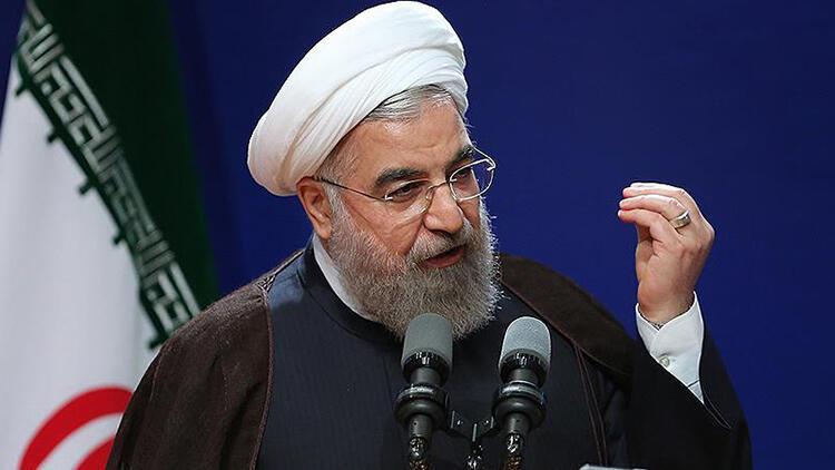 İran Cumhurbaşkanı Ruhani: 'Siyonistler İran'a karşı adım atarsa cevabını veririz ve ilk cevabı aldılar'