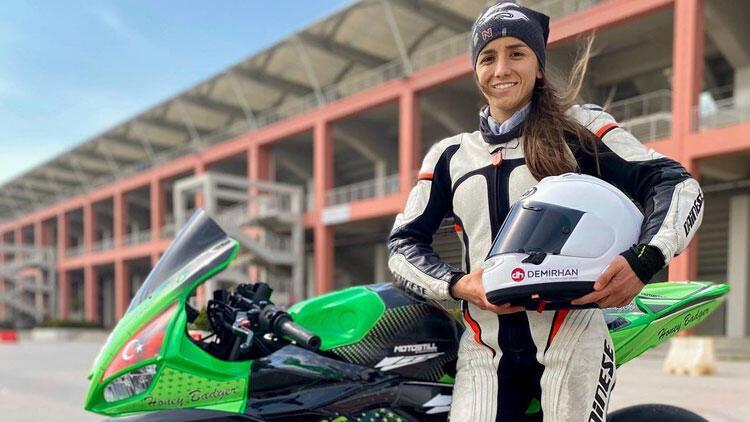 İlayda Yağmur Yılmaz, Avrupa Kadınlar Kupası'nda ilk Türk kadın motosikletçi olarak piste çıkacak