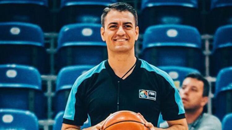 Yener Yılmaz, FIBA Şampiyonlar Ligi 8'li finalde düdük çalacak