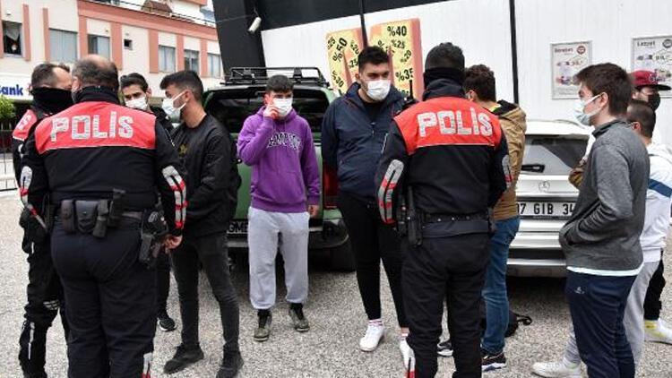 Antalya'da 'uzun namlulu tüfek' alarmı! 5 gözaltı