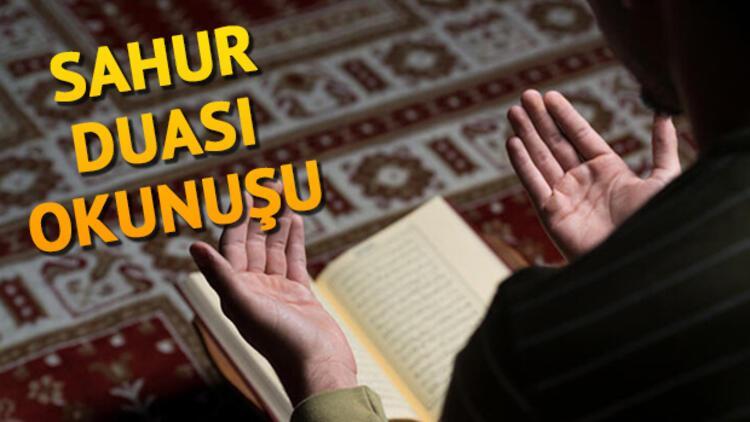 Sahur Duası Türkçe Okunuşu - Sahur Duası Anlamı ve Arapça Yazılışı (Diyanet)