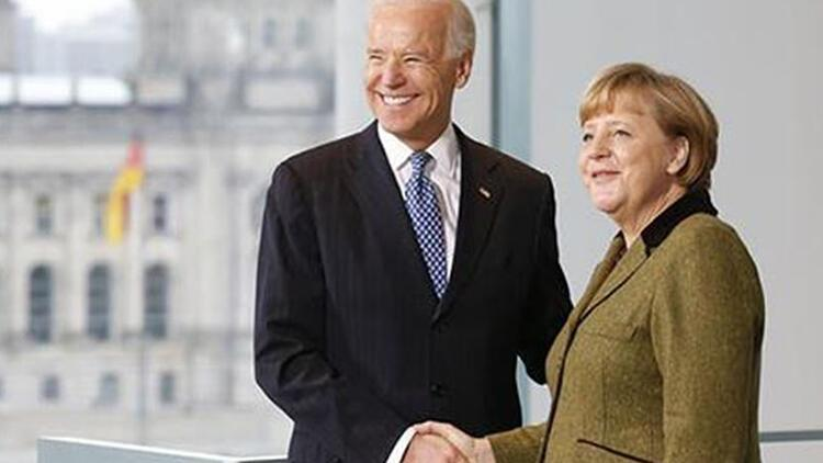 Biden-Merkel telefon görüşmesinde 'Ukrayna'nın egemenliği ve toprak bütünlüğüne destek' vurgusu