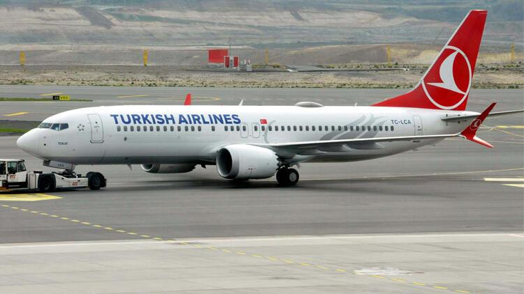 THY'nin Boeing 737-MAX'i iki yıl aradan sonra ilk seferini yaptı