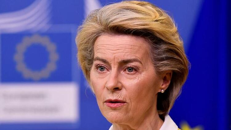 AB Komisyonu Başkanı von der Leyen aşı oldu