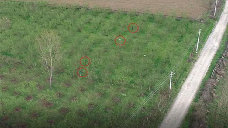 Düzce'de havayı kirletenler drone ile tespit ediliyor