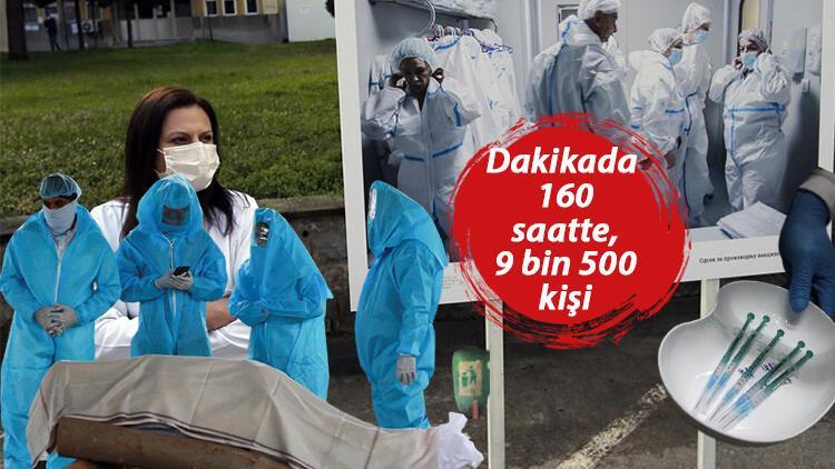 DSÖ açıkladı: Avrupa'da ölümler bir milyonu aştı, durum ciddi!