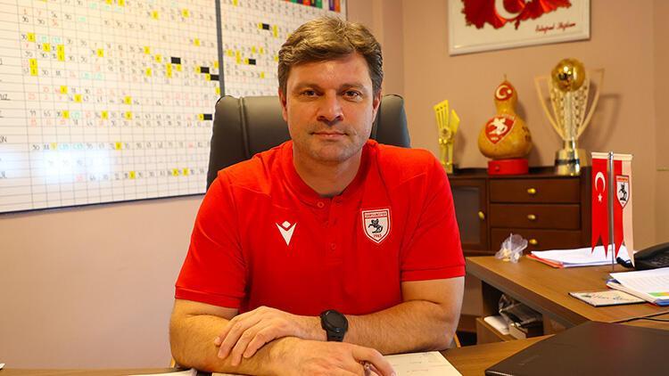Samsunspor Teknik Direktörü Sağlam: 'Süper Lig hedefimize daha çok sarılacağız'