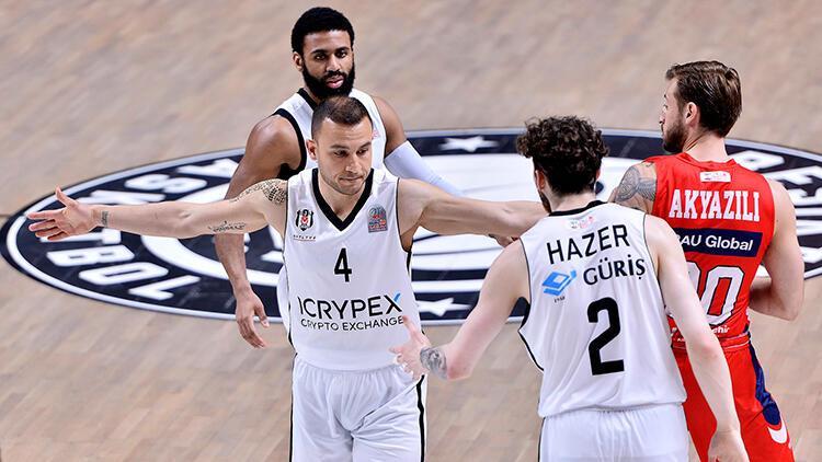 Beşiktaş Icrypex 83-77 Bahçeşehir Koleji