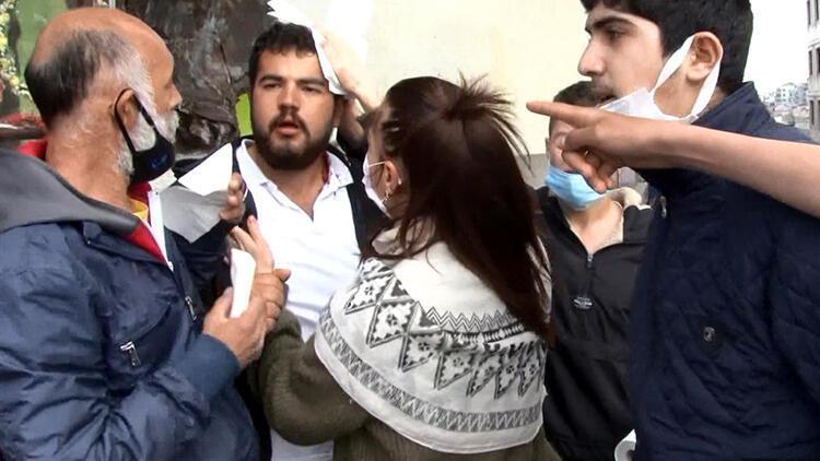Taksim'de gerginlik! 1 seyyar satıcı yaralandı